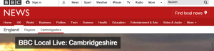 BBC Cambs logo